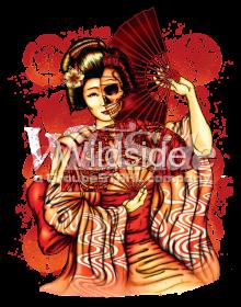 auto-sku-11x14-geisha-skull