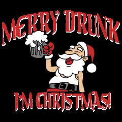 merry drunk im christmas lightdark garments only - Merry Drunk Im Christmas