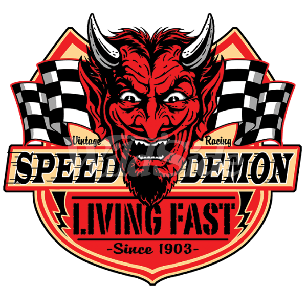 Speed demon living fast