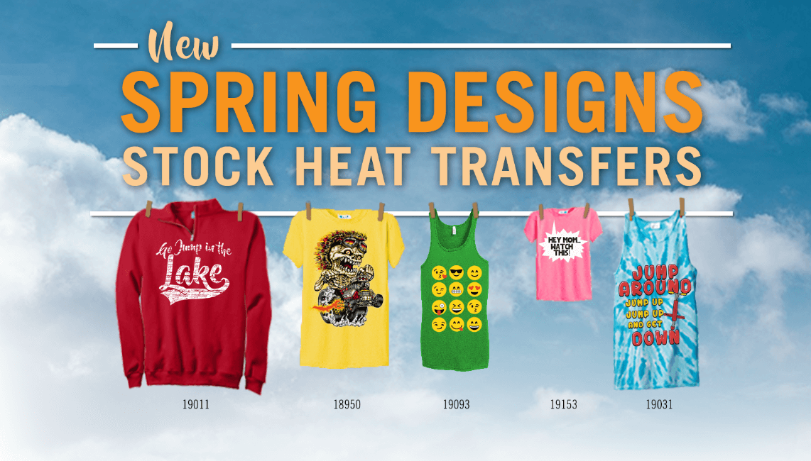 New Stock Heat Transfer Designs - The Wild Side