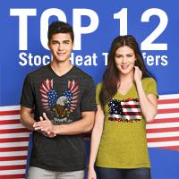 Americana Stock Heat Transfers