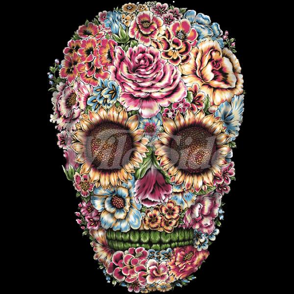 Victorian flowers skull wildside victorian flowers skull mightylinksfo