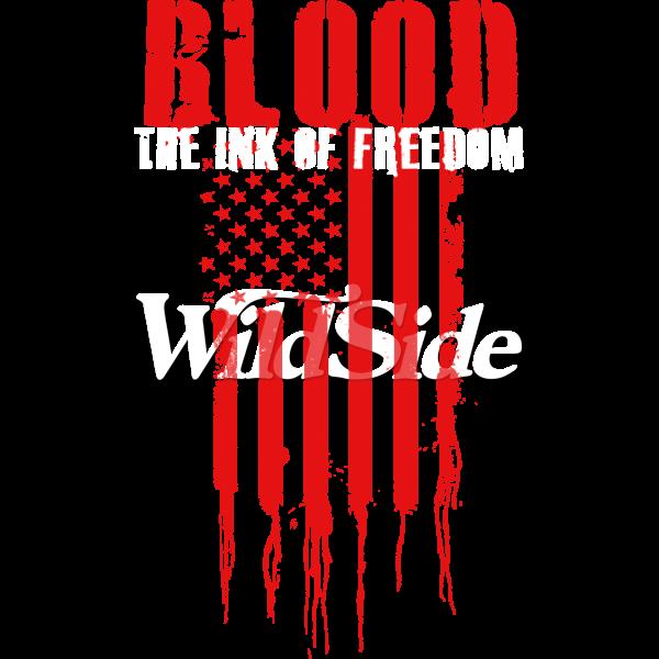 BLOOD INK OF FREEDOM VERT FLAG STOCK TRANSFER