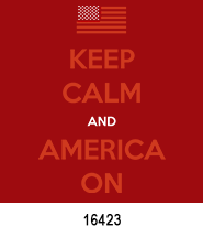 Keep Calm Patriotic Heat Press Transfers