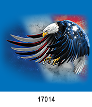 patriotic eagle Patriotic Heat Press Transfers