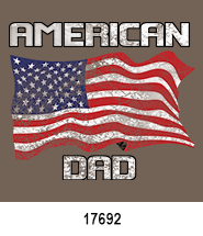 father's day stock heat transfers patriotic
