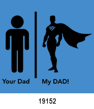 father's day stock heat transfers superhero