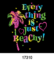 Just Beachy T-Shirt Design Idea