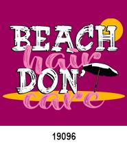 Beach Hair T-Shirt Design Idea