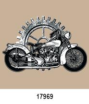 Gear T-Shirt Transfer Design