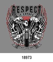 Respect is Earned T-Shirt Transfer Design