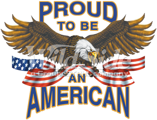 proud to be an american eagle the wild side