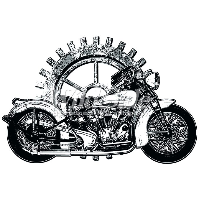 MOTORCYCLE AND GEAR