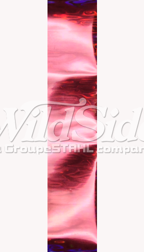 Pink Ripples Hologram Foil