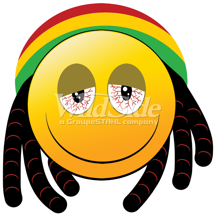 emoji rasta man the wild side
