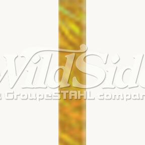 Gold Lines Hologram Foil
