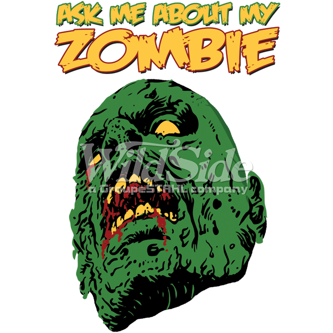 ASK ME ABOUT MY ZOMBIE
