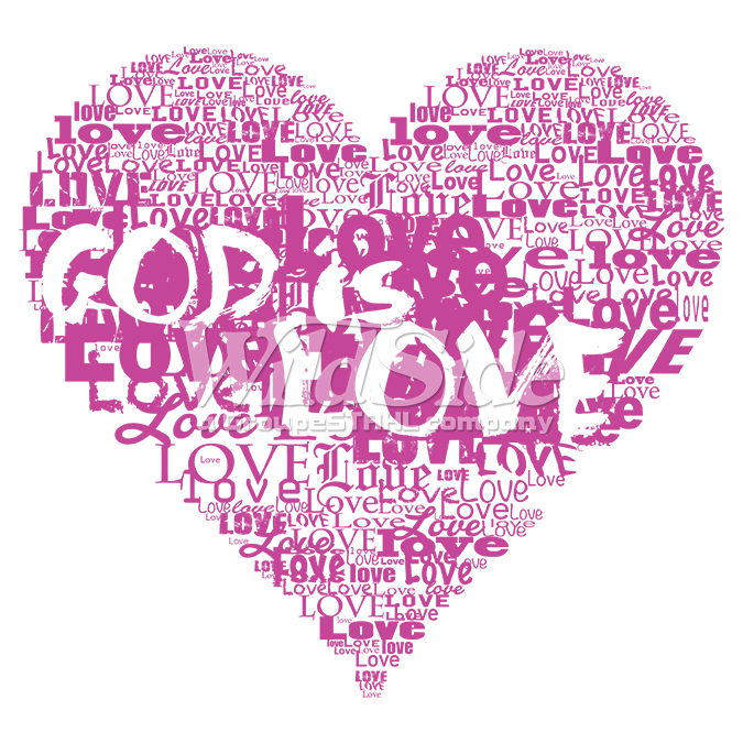 Love Images In: GOD IS LOVE - HEART